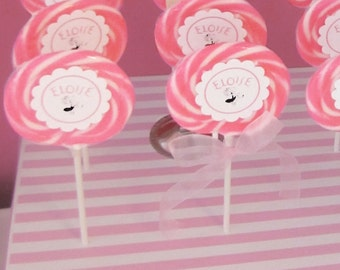 Lollipop Printed Stickers - Eloise at the Plaza