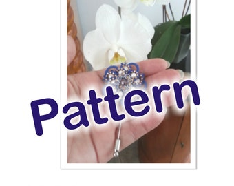 Pattern for a tatted pin or brooch (multivolume)