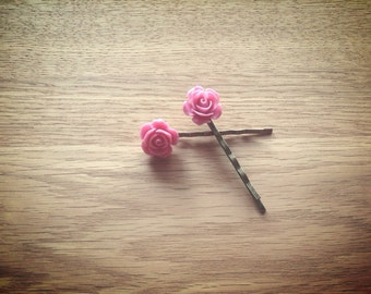 Vintage Rose Hair Clip