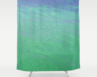 Popular items for tub curtain on etsy for Sea green bathroom accessories