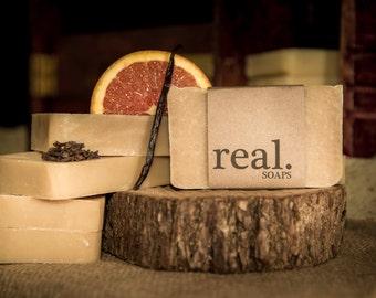 Vanilla & Orange with Clove Soap, Clove Soap,Orange Soap,Vanilla Soap,Handmade Soap,Natural Soap, Vegan Soap, Fall Soap, Bar Soap,Gift, Gift