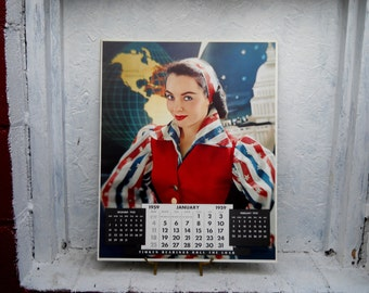 Calendar Jan. 1959 Photo by Victor Keppler Commercial Photography. Framable Art 16x20