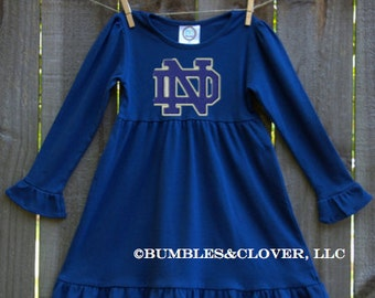 College Football Inspired Girls Fall Dresses