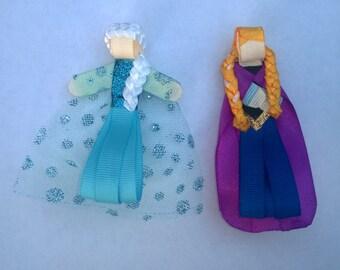 Frozen Inspired Hair Clip