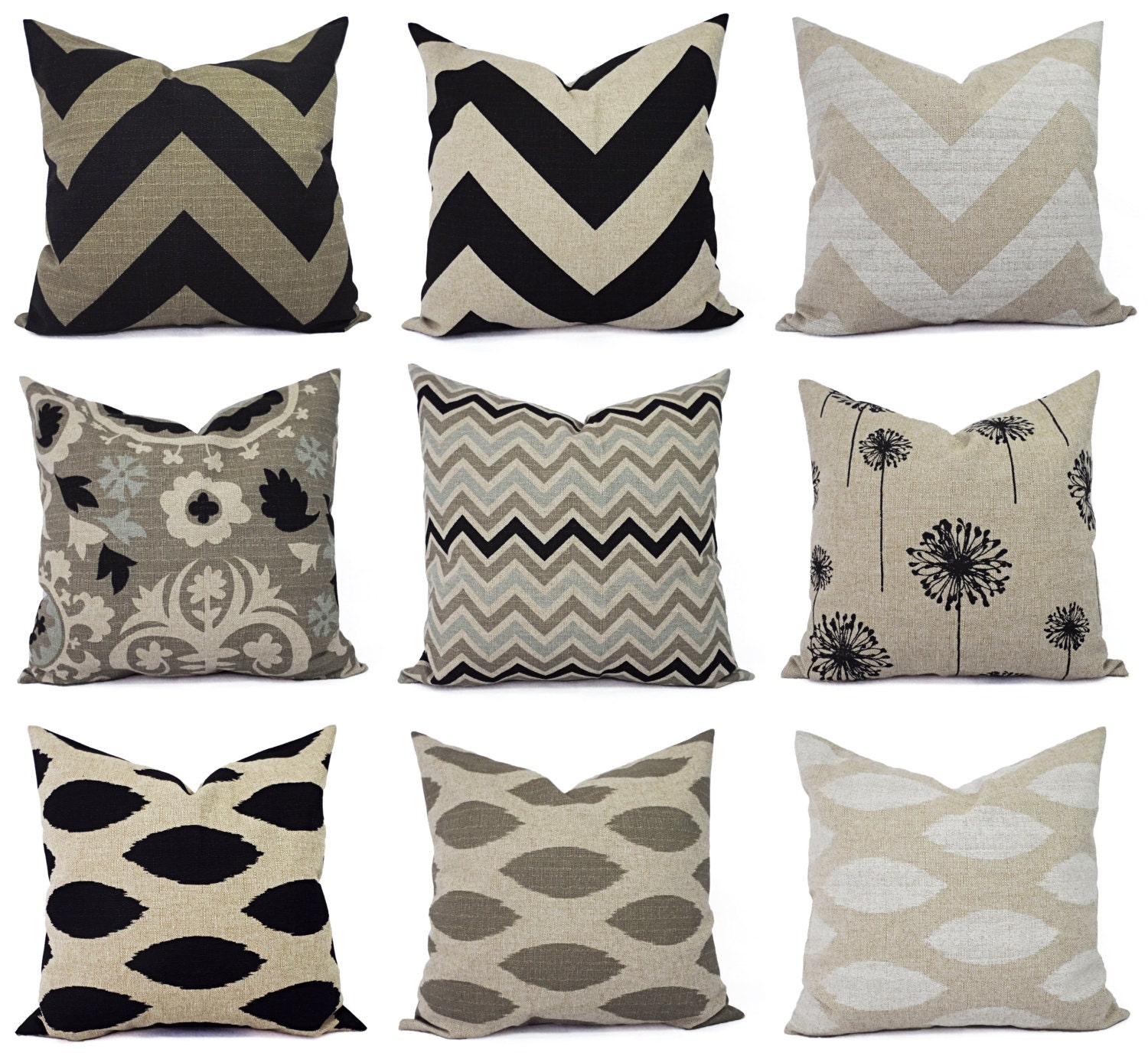 Brown Decorative Throw Pillows : One Decorative Throw Pillow Cover Brown and by CastawayCoveDecor