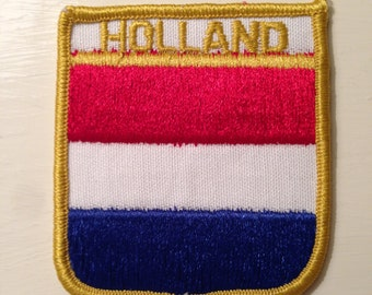 Holland Flag Travel Patch