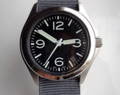 Custom Aviator Style Automatic watch (Seiko 7s26 movement)