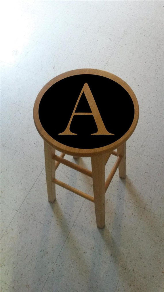 Items Similar To Custom Personalized Bar Stool Covering