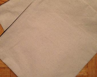 Plain Canvas Pouches (Large)