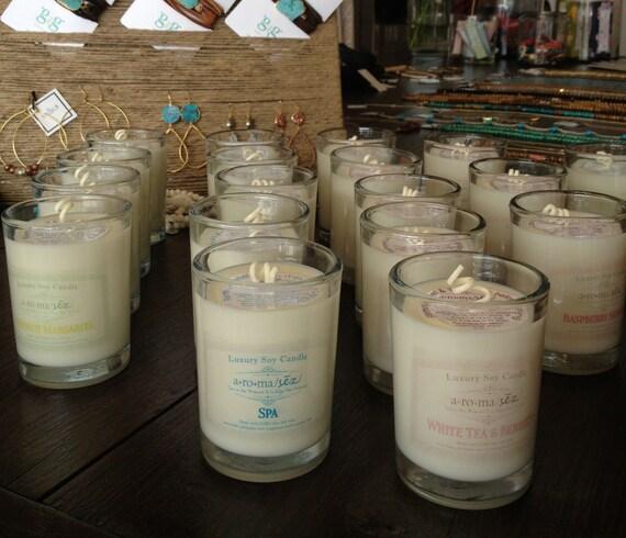 Luxury Soy Candle -Non-toxic, Long Burning, Phthalate free