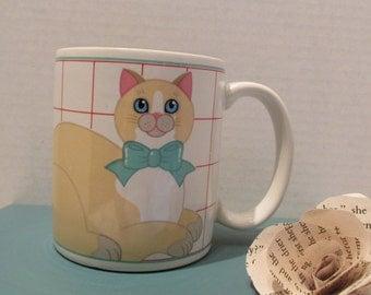 Kitty with a Bow Mug - Pelzman Designs