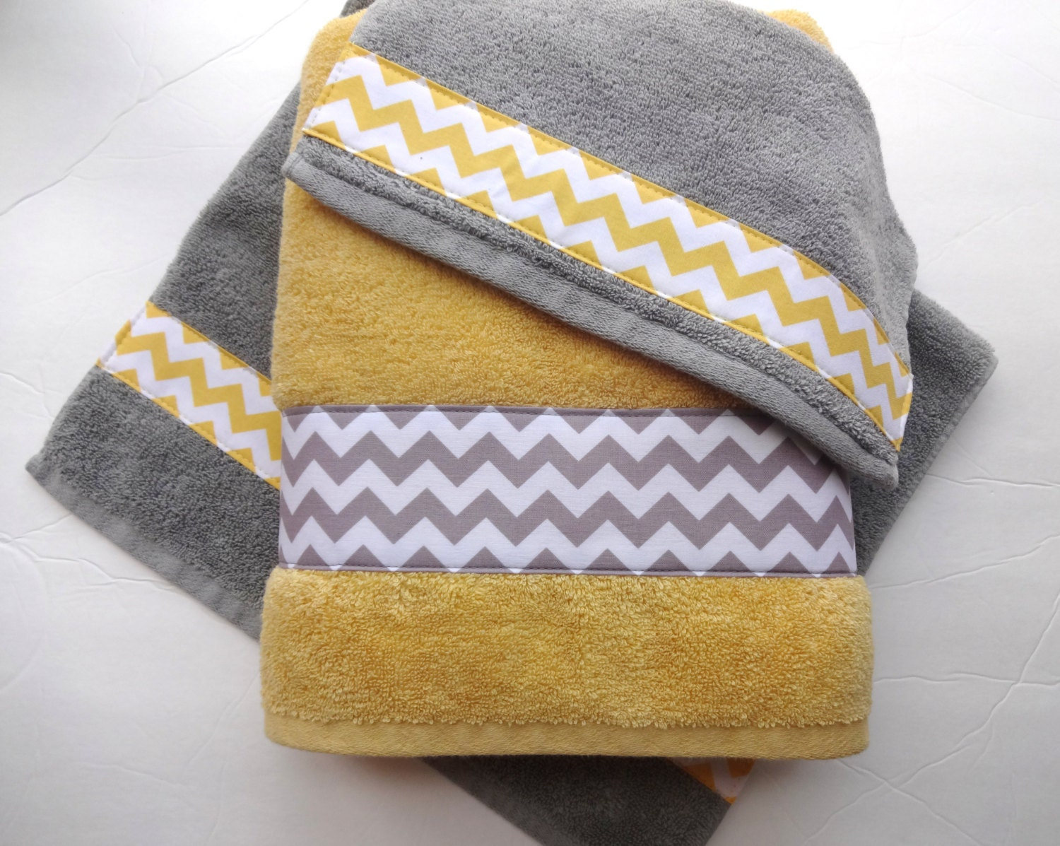 pick your size towel yellow and grey towels gray and yellow. Black Bedroom Furniture Sets. Home Design Ideas