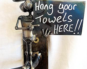 Mouse Towel Rack
