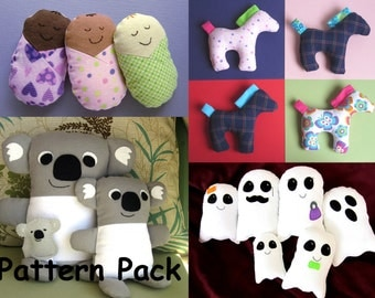 Free Sewing Pattern: Elephant Softie Pattern and Tutorial