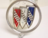 Buick Regal Hood Ornament,1980s, Long Discontinued, Vibrant Colors, Excellent Condition