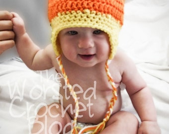 Candy Corn Hat (Infant Size)
