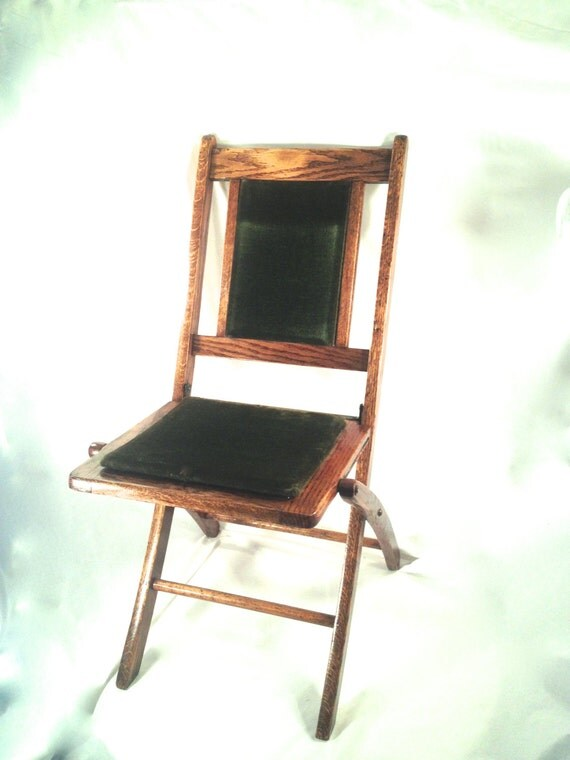 RESERVED For P Alexander Folding Chair Mortuary Furniture
