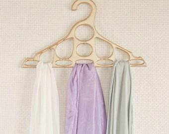 Сloset organization ideas, Scarf hanger, Hanger scarves, hanger, wooden gift, accessories, closet, functional gift, organizer, gift, Scarf