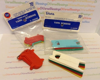 BOYE, Diana, Wrights, Yarn Bobbins, Multi Color, Knitting Projects, Made in USA
