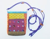 Small Crossbody Fabric Handbag - The Dinky