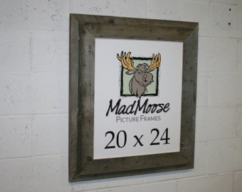 20x24 Stacked Chunky Barn Wood Picture Frame