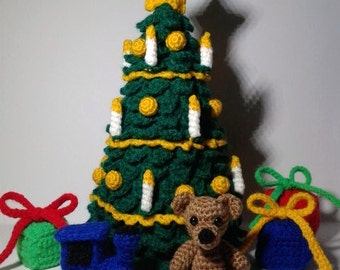 PDF crochet pattern large Christmas tree