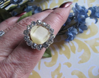 Ring,  Jewelry, Woman, Ring, Vintage Ring, Rhinestone Ring, Women, Mother, Gift Idea, Mothers Day Gift