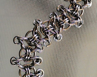 Stainless Steel Chainmaille Bracelet