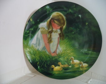 Vintage Donald Zolan Collectors Plate - Golden Moments