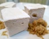 Brown Sugar Marshmallows  - 1 dozen Gourmet homemade marshmallows