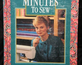 10-20-30 Minutes to Sew Book by Nanci Zieman