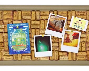 Taupe Wine Cork Board