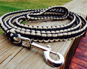 Paracord Dog Leash, 6ft long, Cobra Weave, Free Shipping to any US address