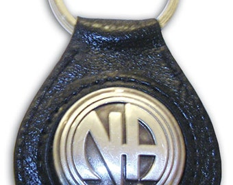 Leather N.A. Key Ring:
