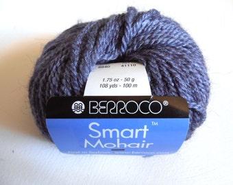 SALE!  Lonely Destash Yarn - Berroco Smart Mohair - Lavender