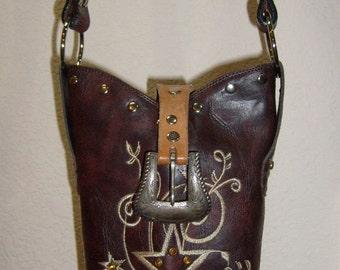 Cowboy Boot Purse BP77