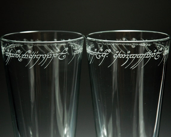 Lord Of The Rings Drinking Glasses