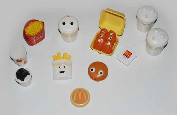 Items similar to fisher price vintage mcdonald food on etsy - Cuisine bilingue fisher price ...