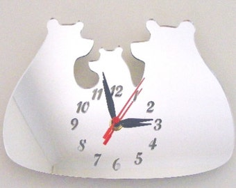 Three Bears Clock Mirror - 2 Sizes Available