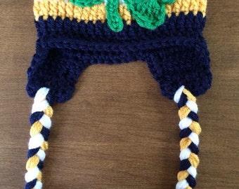 Notre Dame Crochet hat
