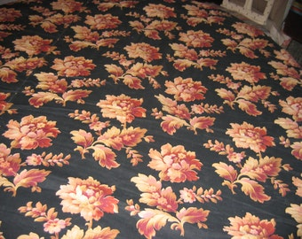 sumptuous sewn antique Provencal blanket hand nopoleon bedspread