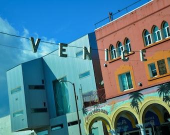venice beach photography, california, travel photography, venice beach art, boardwalk, summer, colorful wall art