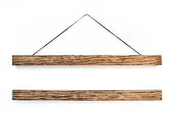 Wooden poster hanger TONE / hanging frame