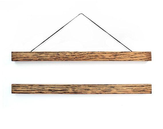 Wooden Poster Hanger Tone Hanging Frame