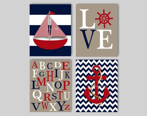 baby boy nautical nursery decor boys room nautical decor. Black Bedroom Furniture Sets. Home Design Ideas