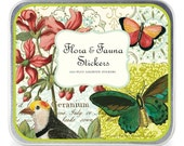 Flora & Fauna Vintage stickers, Cavallini