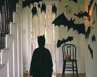 DIY - Printable Halloween Decoration BAT