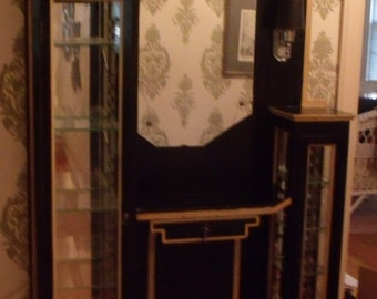 Glass Display Booth from the 1920's-Beauty Shoppe Booth