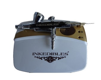 Inkedibles Edible AirBrush Ink System (with compressor and airbrush)
