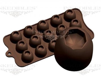 Silicone Chocolate Mold - 3D Octagon Shape